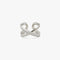 LUSTER Cross Ring / Ear cuff S - Silver