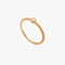 ELEMENT Single Ring M Matte Gold