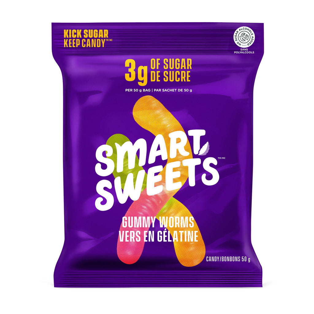Smart Sweets - Gummy Worms
