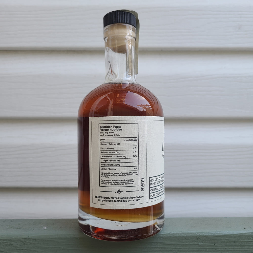 53 Acres - Pure Organic Golden Maple Syrup