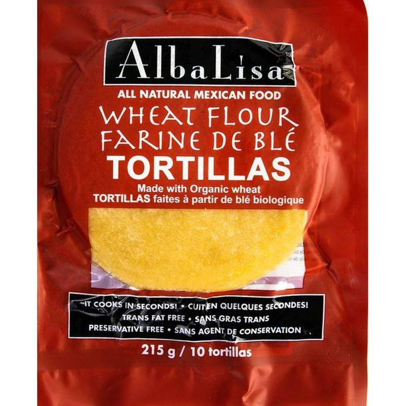 Alba Lisa - Wheat Flour Tortillas Alba Lisa