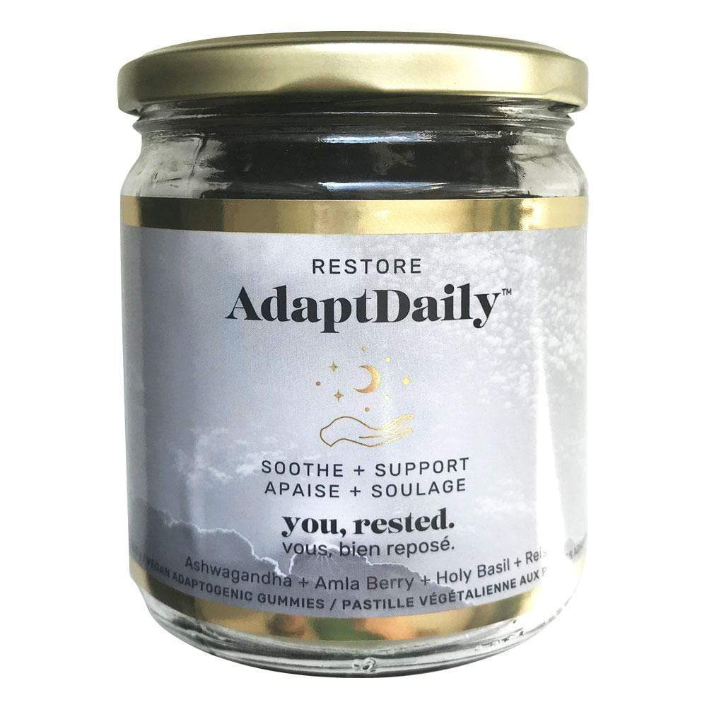 AdaptDaily - RESTORE Adaptogenic Gummies Raw Elements