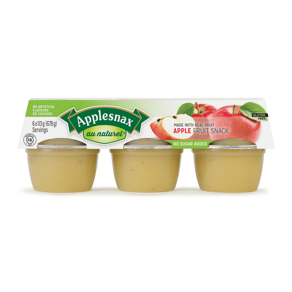 Applesnax - Snack Size Unsweetened Apple Sauce UNFI