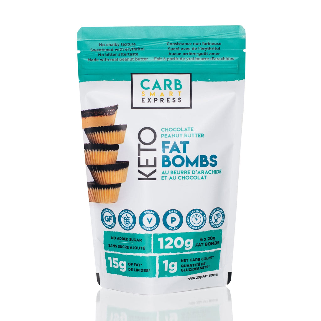 Carb Smart Express - Chocolate Peanut Butter Fat Bombs