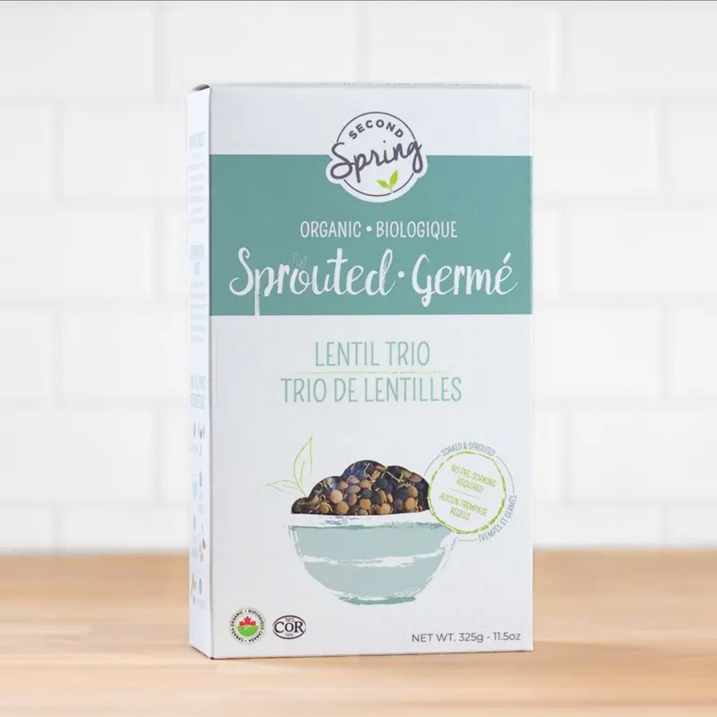 Second Spring - Sprouted Lentil Trio