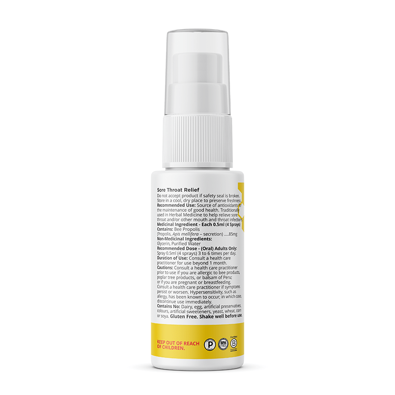Beekeeper's - Propolis Throat Relief Purity Life