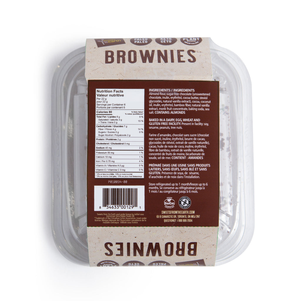 Sweets From the Earth - Keto Brownies