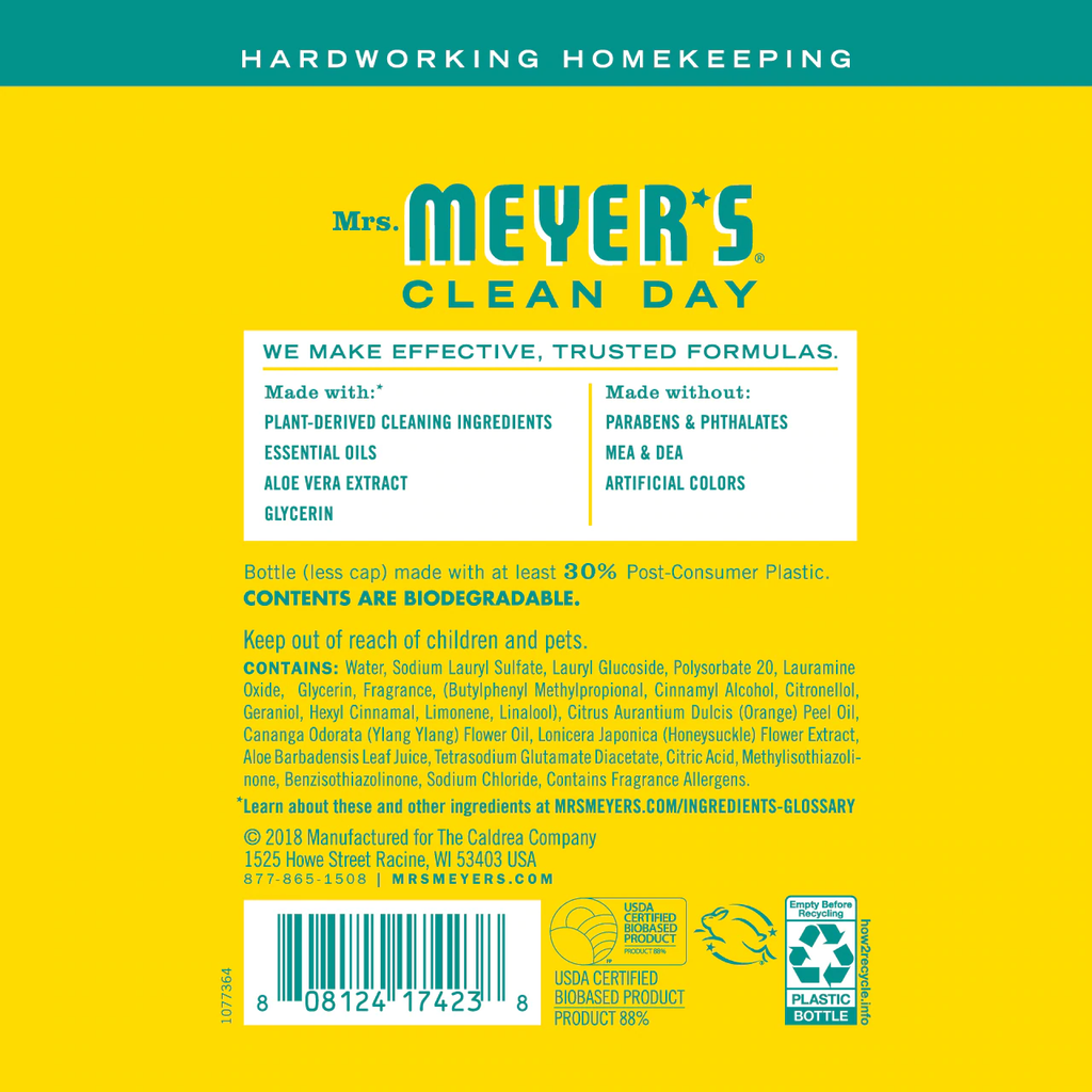 Meyer's - Dish Soap