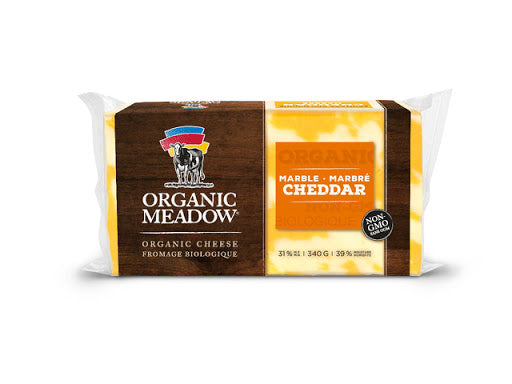 Organic Meadow -  Marble Cheddar Cheese