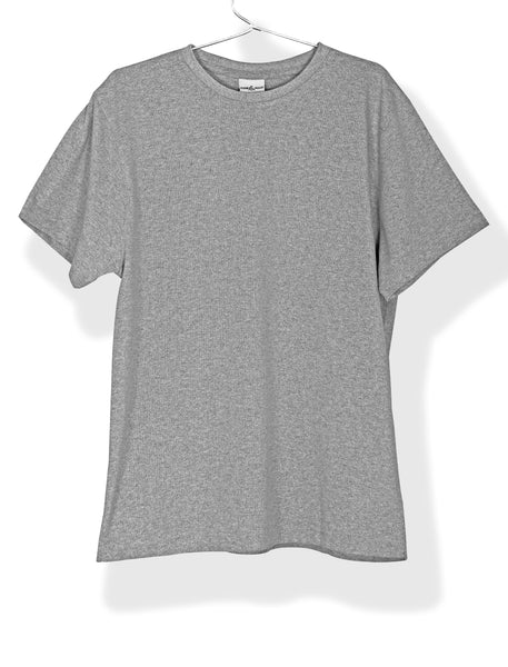 Recyclo T-Shirt (Made from Cotton + Recycled Plastic Bottles) - Cuir Ally Smart Goods