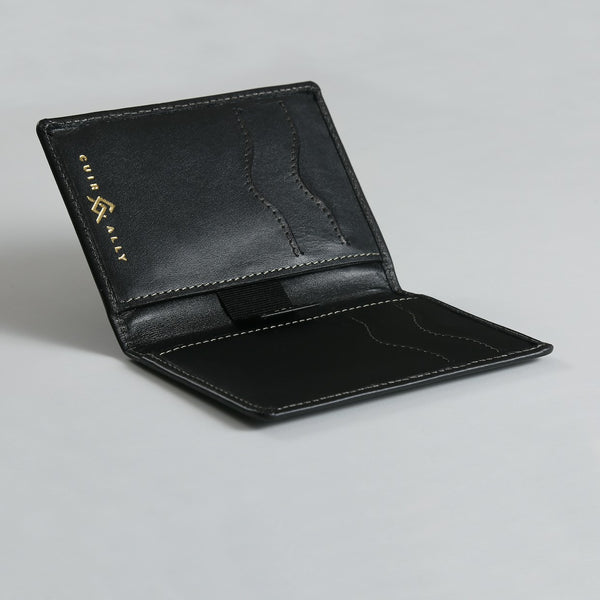 Slim Card Holder Wallet Cuir Ally