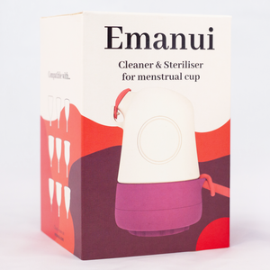 Emanui Menstruation Cup Cleaner & Steriliser