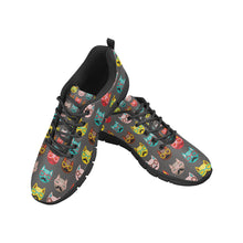 Load image into Gallery viewer, Cat Print Women's Breathable Sneakers
