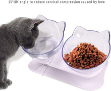 Load image into Gallery viewer, Cat shaped feeding bowls