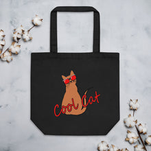 Load image into Gallery viewer, Eco Cool Cat Tote Bag