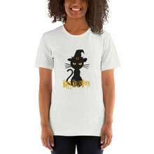 Load image into Gallery viewer, Black kitty Halloween T-Shirt