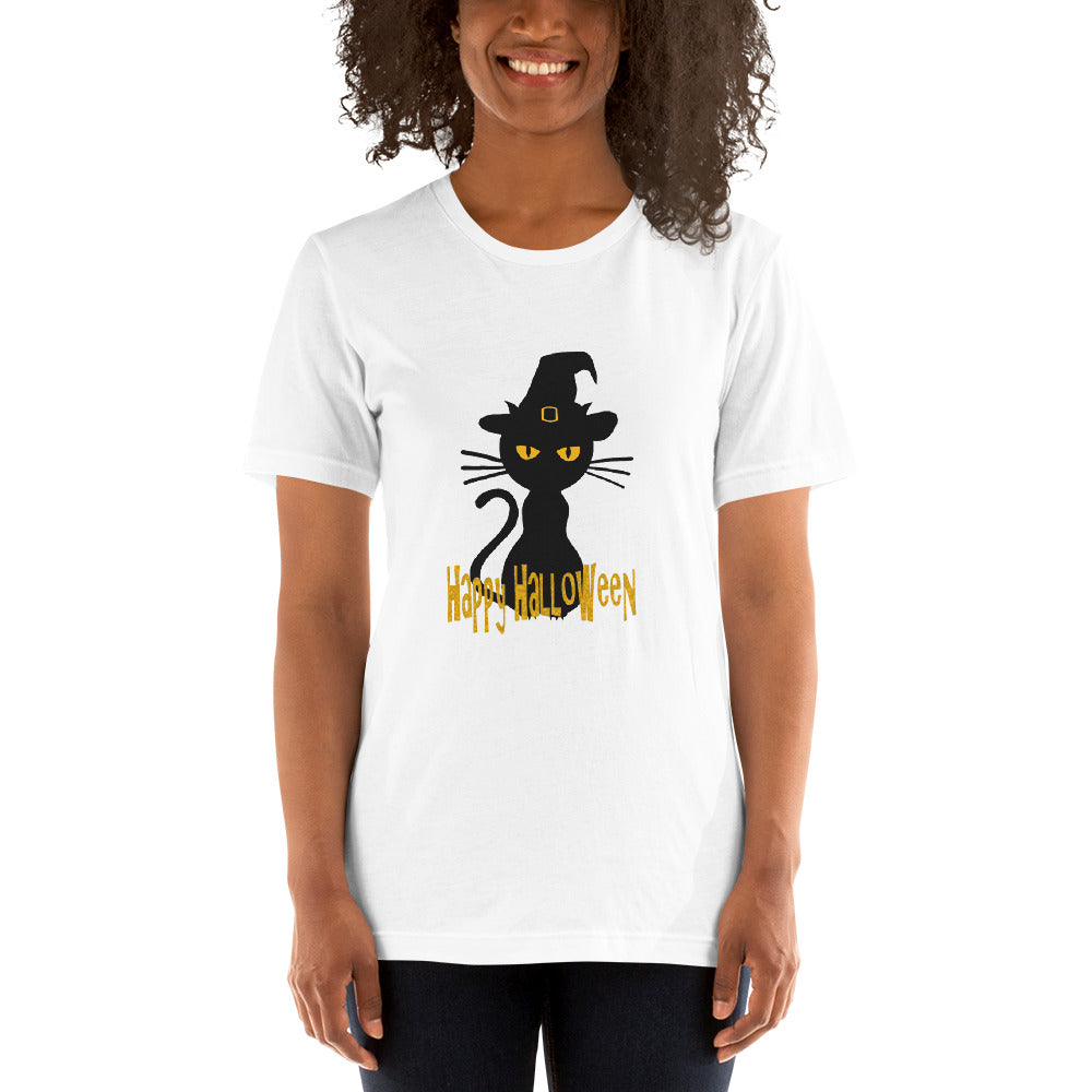 Black kitty Halloween T-Shirt