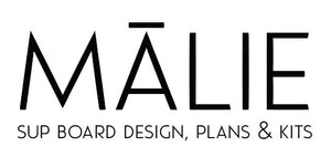 Malie SUP Board Frame Kit and PDF Plans