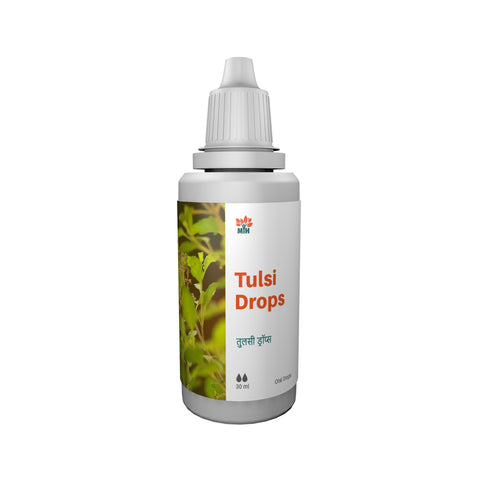 Mansar Herbals Tulsi Drops 30ml Tulsi has wonderful immunomodulator properties. Mansar Herbals Tulsi drops are useful in Kasa (Cough), Pratisyaya (Cold) , Swasa (Dyspnoea) & Hikka (Hiccups). It also helps in Sore Throat, Bronchitis, Bronchial Asthma and Malaria.