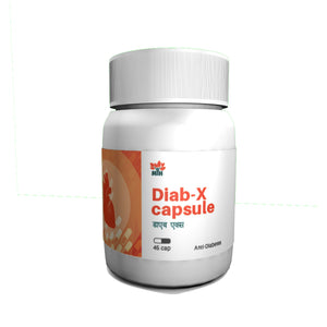 Mansar Herbals Diab-X Capsule is a P&P Ayurvedic Medicine for managing Diabetes Mellitus. It helps to maintain normal blood sugar levels, support normal lipid metabolism & promote glucose utilisation.  It is very effective in Pre-Diabetes and newly detected Diabetes and can be used as an adjuvant to modern oral hypoglycemic agents in case of un-controlled diabetes.