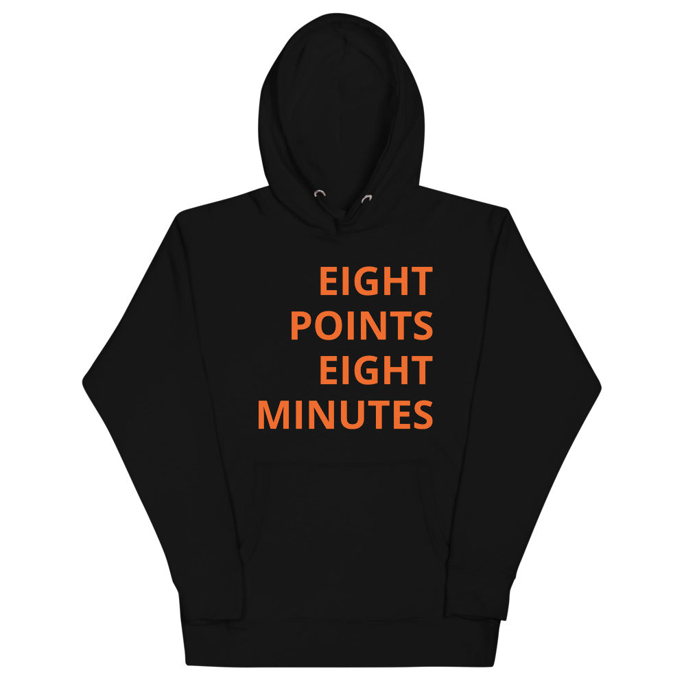 EIGHT POINTS EIGHT MINUTES - Premium Unisex Hoodie