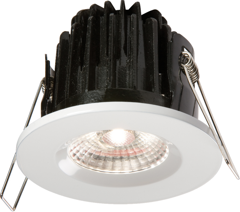 IP65 7W LED 4000K Cool White Downlight with White Bezel