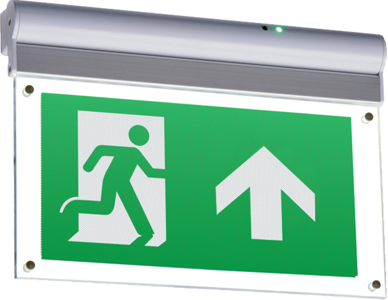 230V IP20 4W LED Self-Test Exit Sign