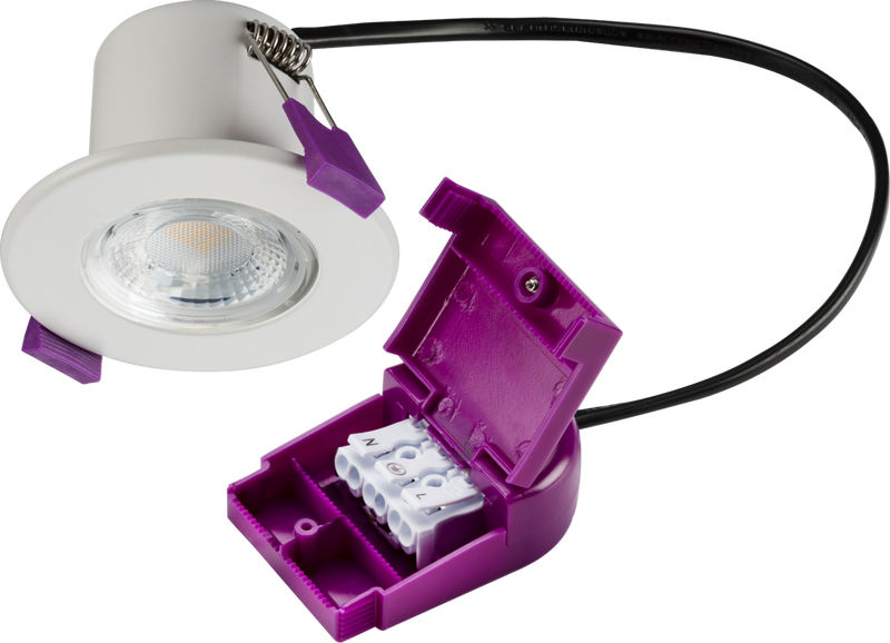 230V IP65 5W Fire-Rated LED Downlight 4000K