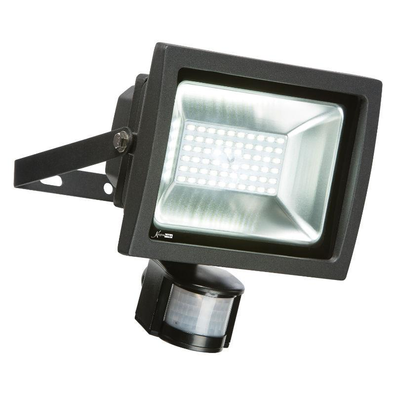 30 Watt 2,700lm Daylight IP44 PIR Floodlight - Steel City Lighting
