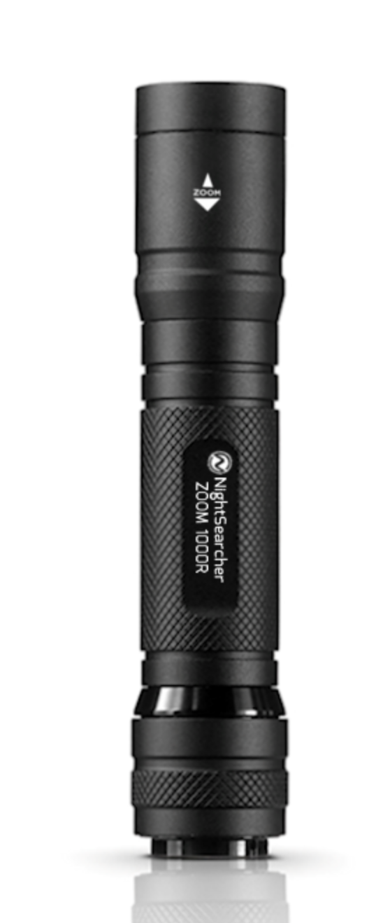 Zoom 1000R Spot-to-Flood Rechargeable Flashlight