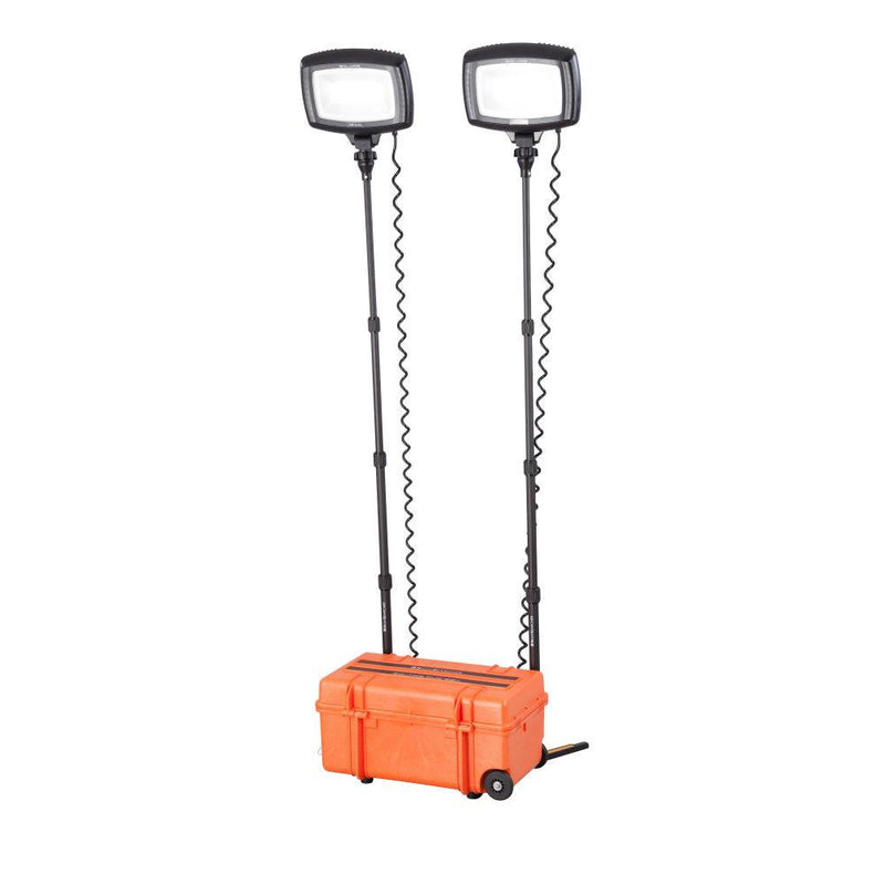 Solaris Duo Li-ion Portable Area Lighting System - Steel City Lighting