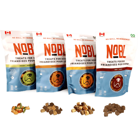 NOBL Treats for Dogs Are A Healthy Reward