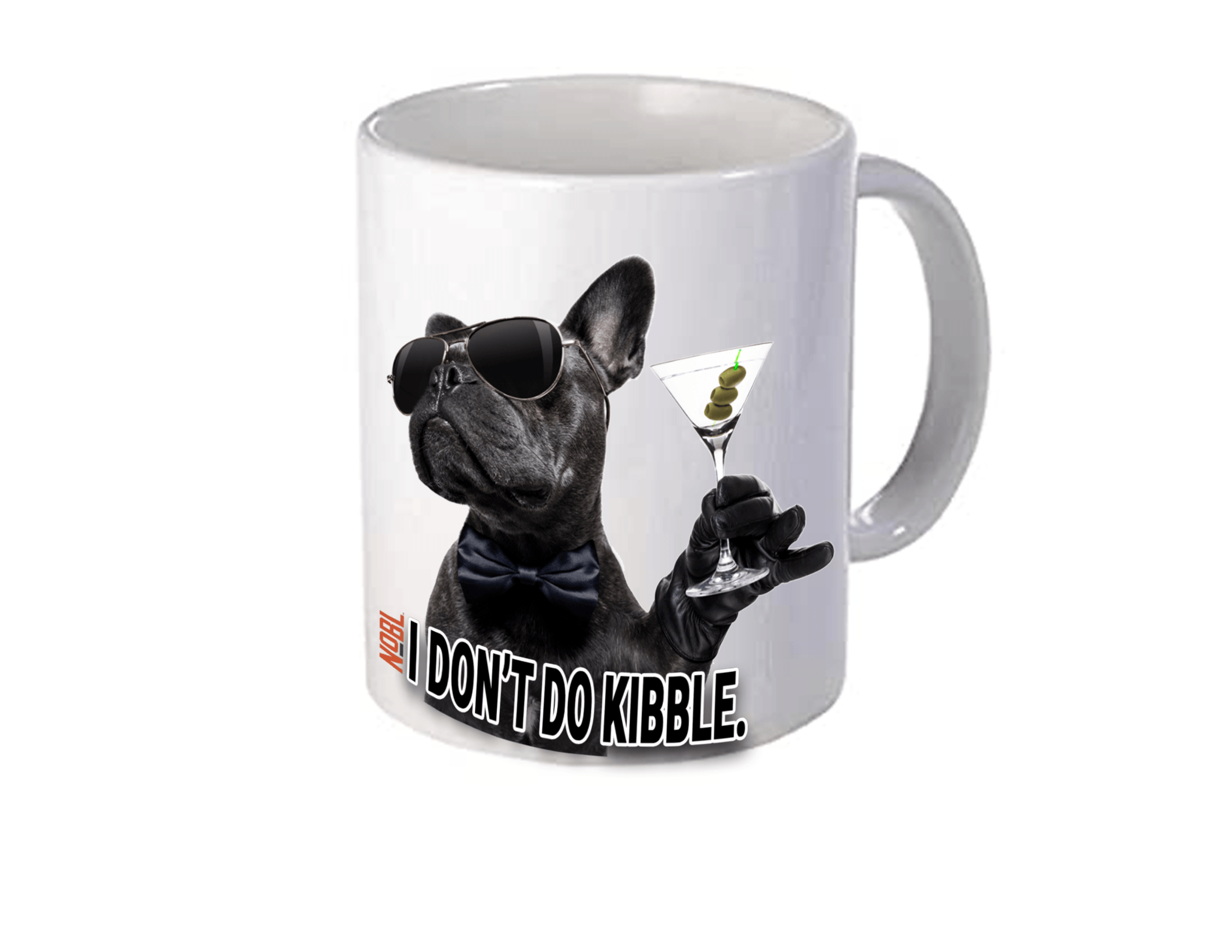 I Don't Do Kibble Coffee Mug - NOBL Foods