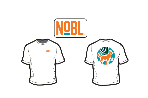 NOBL Sky Dog T-Shirt - NOBL Foods