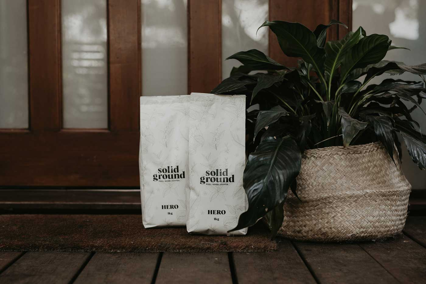 Solid Ground Roasters Our Story Hero Blend 1kg Bag