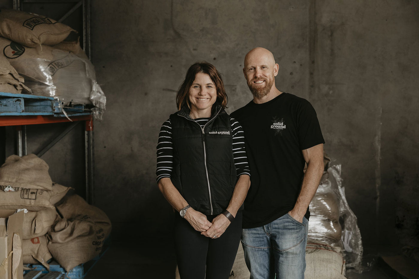 Solid Ground Roasters Our Story John and Maree