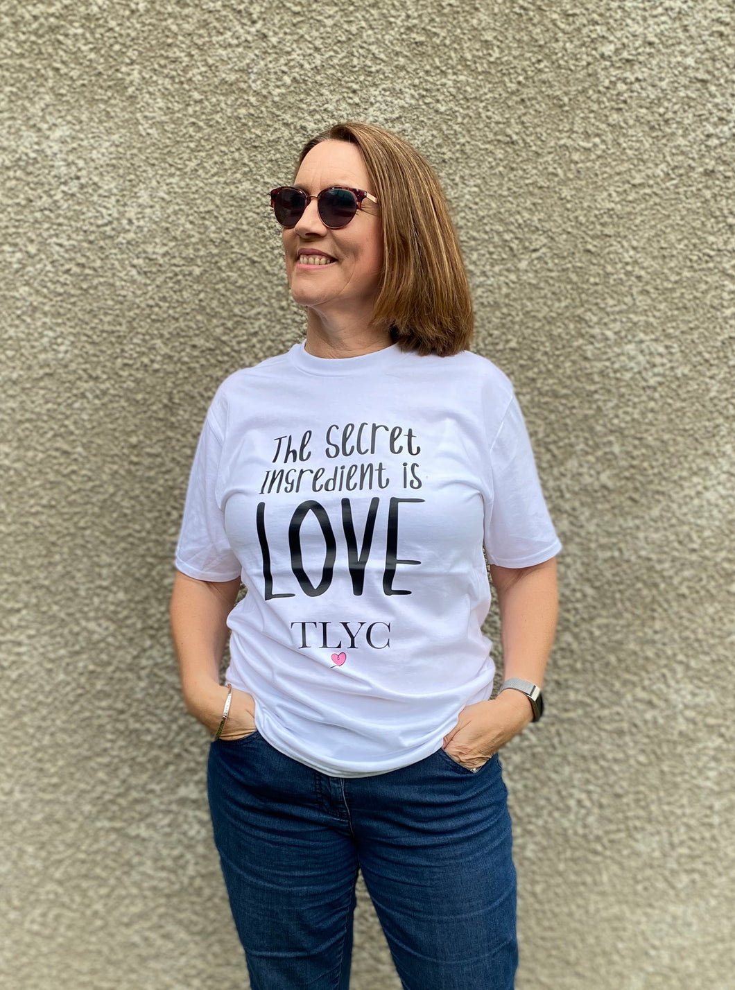 Love Quote Short Sleeve Tee