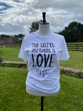 Load image into Gallery viewer, Love Quote Short Sleeve Tee
