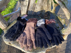 Ladies Feather  Gloves