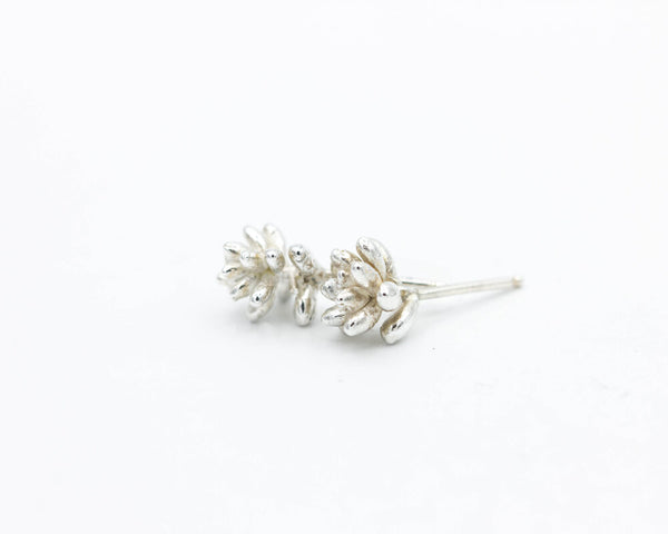 Sterling Succulent Earrings