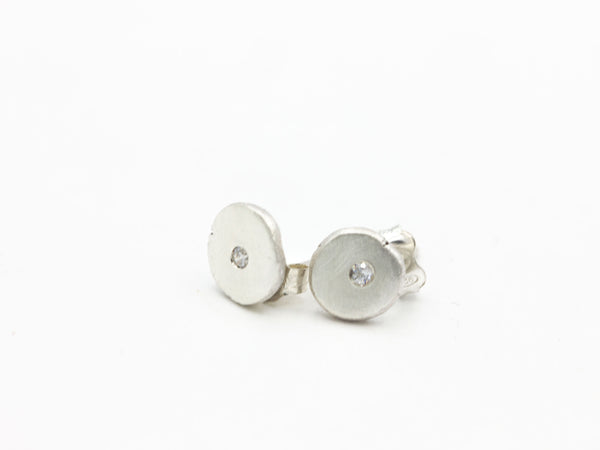 Sterling and Cubic Zirconia Studs