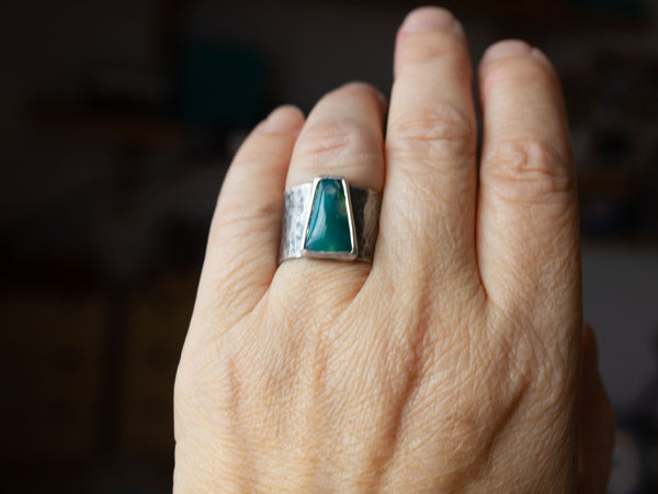 Gem Silica Ring Size 8.75