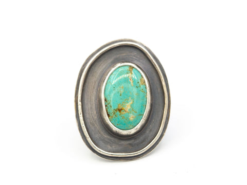 Turquoise Ring, Size 7.75