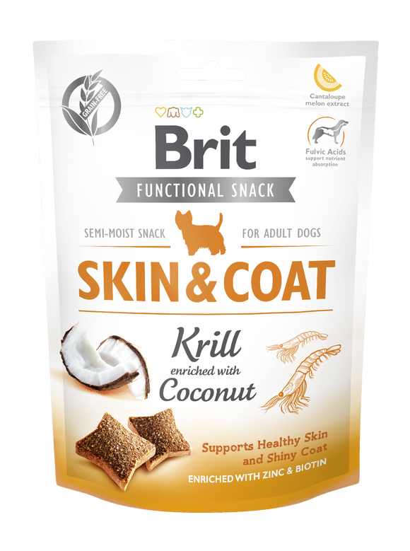 Brit Care Functional Snack SKIN & COAT