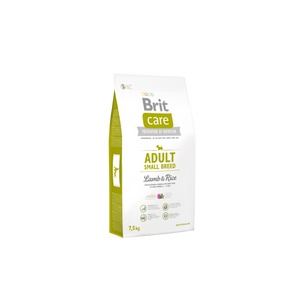 Brit Care ADULT - SMALL BREED<br>BÁRÁNY & RIZS<br><i>Hipoallergén</i>