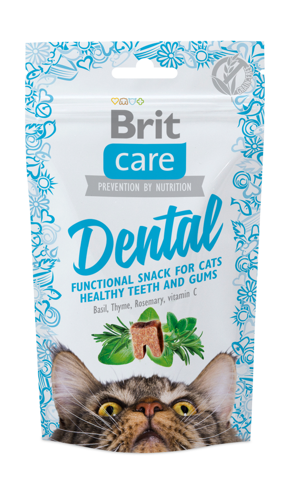 Brit Care Cat Snack Functional<br>DENTAL