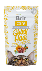 Brit Care Cat Snack Functional<br>SHINY HAIR
