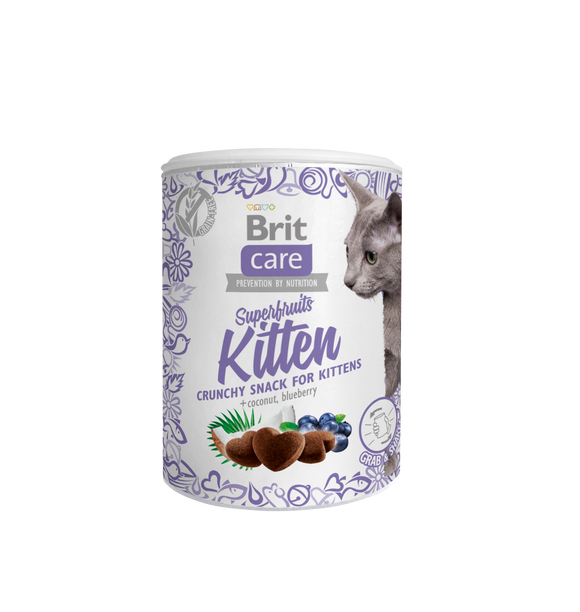 Brit Care Cat Snack Superfruits<br>KITTEN
