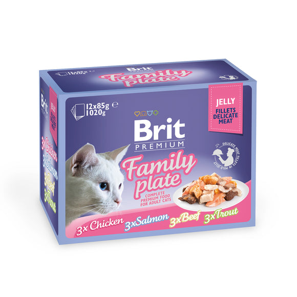 Brit Premium Jelly<br>FAMILY PLATE