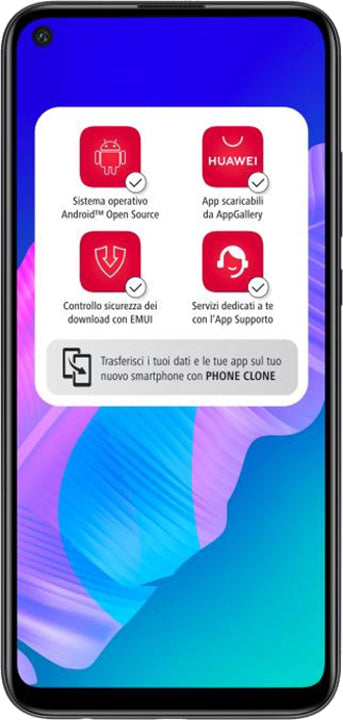 "Huawei P40 lite E 6.39""4GB RAM Midnight Black DS ITA"